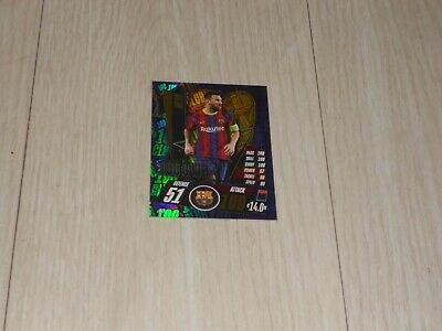 100 CLUB, Lionel Messi, Topps Match Attax 2020, MINT CONDITION • 1.50£