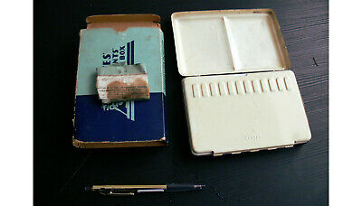 Vintage Reeves Student Colour Painting Box, Complete. • 13.50£