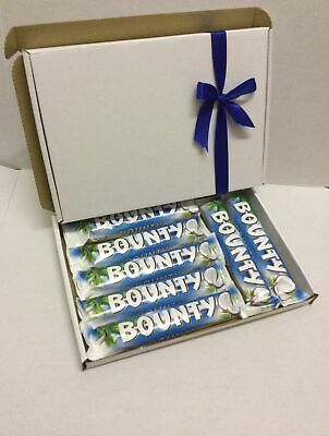 Bounty Chocolate Present Coconut Hamper Gift Box Personalised B'day Mother's Day • 9.99£