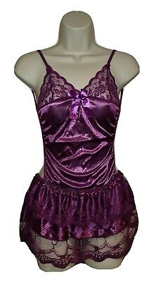 Brand New Sexy Purple Backless Lingerie Dress • 3.99£