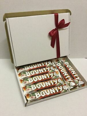 Bounty Dark Chocolate Coconut Gift Hamper Box Personalised B'day Mother's Day • 9.99£