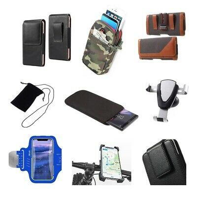 £27.52 • Buy Accessories For HTC Desire 12+: Case Sleeve Belt Clip Holster Armband Mount H...