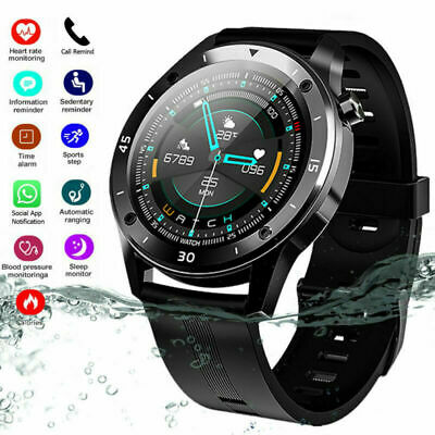 View Details Waterproof Sport Fitness Smart Watches Women Men Heart Rate Tracker IOS Android • 23.99£