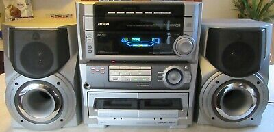 AIWA Z-L500 CD X 5 Stereo System, All Works Apart From Tape Decks Require Belts • 39.29£