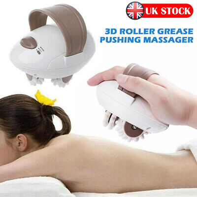 3D Electric Anti-Cellulite Body Massager Roller Shaping Slim Massaging Machine • 12.99£