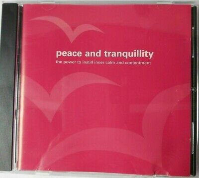 Peace And Tranquillity CD - Near Mint Condition,The Power To Instill Inner Calm • 1.99£