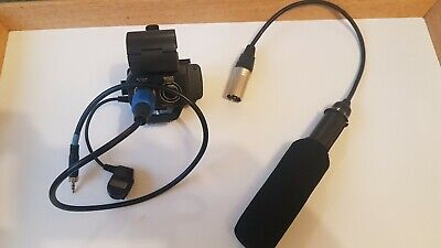 Sony Electret Condenser Mic. And DSLR Shotgun Attachment + Dual Channel Unit • 45£