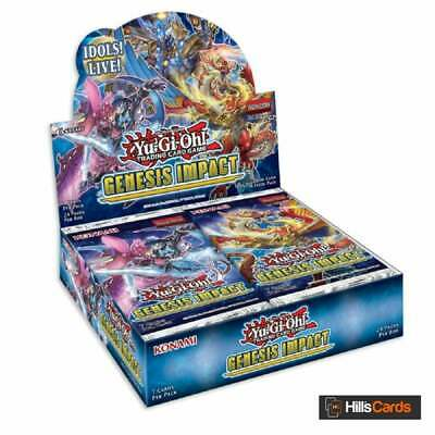 YuGiOh Genesis Impact | Sealed Booster Box Of 24 Packs | New & Sealed TCG Cards • 60.95£