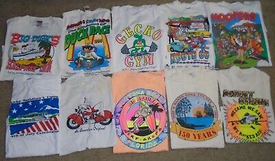 $ CDN76.90 • Buy 10 X Vintage 1990s T Shirt Lot Size XL