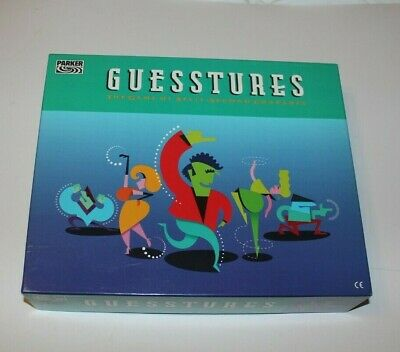 Guesstures Board Game 1991 By Parker • 5.50£