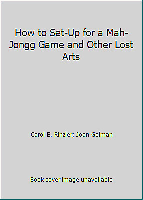 $5.21 • Buy How To Set Up For A Mah-Jongg Game And Other Lost Arts
