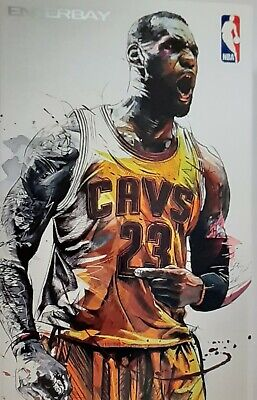$249.99 • Buy NBA Cleveland Cavaliers Lebron James Enterbay Authenic Action Figure