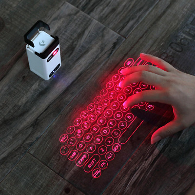 Virtual Laser Keyboard Bluetooth Wireless Projector  Iphone, Android  • 47.92£
