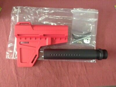 AU19.95 • Buy Jm J9 M4A1 Butt Stock With Metal Buffer Tube