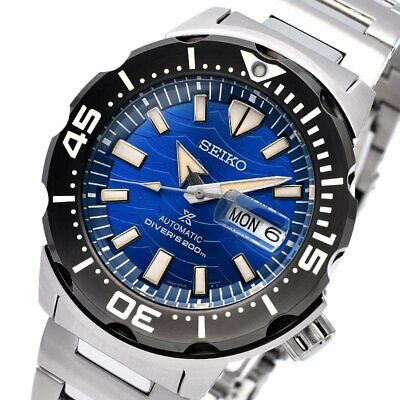 $ CDN519.01 • Buy SEIKO Prospex Save The Ocean Monster Diver SRPE09K1 Automatic Limited Warranty