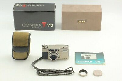 $ CDN468.30 • Buy [N MINT W/ HOOD & CAP] Contax TVS 35mm Compact Film Camera Carl Zeiss From JAPAN