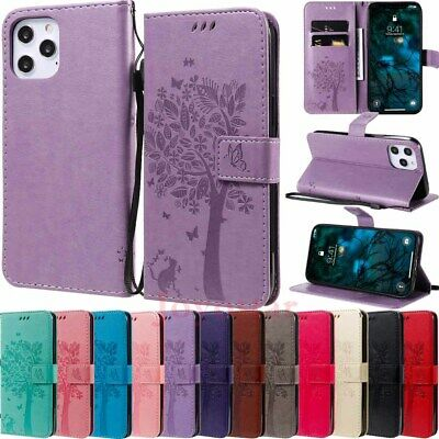 AU10.29 • Buy For IPhone 12 Pro Max 11 XR SE 6s 7 8 Wallet Card Holder Flip Leather Case Cover