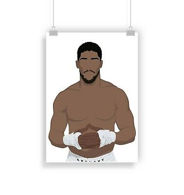 £6.99 • Buy Anthony Joshua, Boxing, Poster, Print, Gifts, Wall Art, Home Decor
