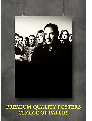 The Sopranos Large Poster Art Print Gift A0 A1 A2 A3 Maxi • 9£