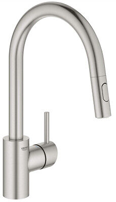GROHE Concetto Kitchen Mixer Tap (pre-used) • 150£