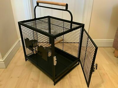 Parrot Traveller - African Grey Parrot Travel Carry Carrier Cage **Brand New** • 39.99£