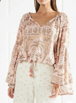 AU50 • Buy Tigerlily, Aziza Rosewater Top, Size 6, Brand New With Tags (RRP $199)