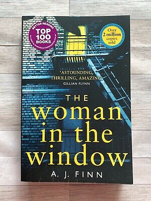 AU5 • Buy The Woman In The Window Paperback Book Thriller By AJ Finn