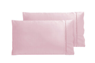 AU12.95 • Buy Accessorize Bedroom Collection Twin Pack Satin Pillowcase Blush