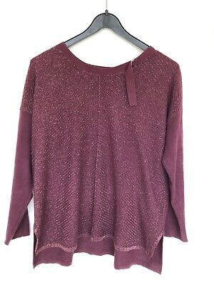 Miss Captain Tortue Purple Sparkle Jumper T0 Size 8 • 10£