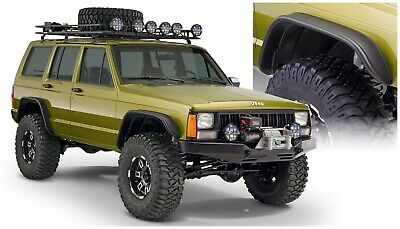 $479.20 • Buy 84-01 For JEEP CHEROKEE XJ FLAT STYLE FENDER FLARES