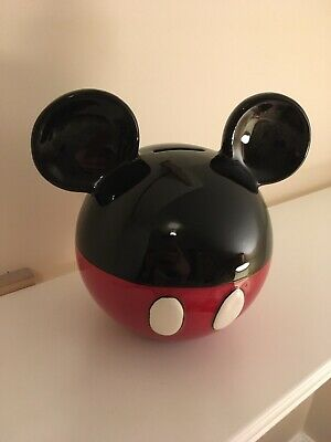Mickey Mouse Piggy Bank • 2.40£