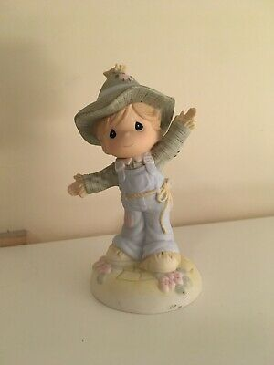 Precious Moments Follow The Path Of Knowledge Wizard Of Oz Scarecrow Figurine • 10£