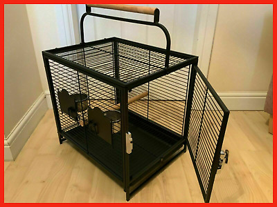 Parrot Traveller - African Grey Parrot Travel Carry Carrier Cage - Reduced - F6 • 16.99£