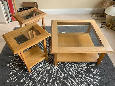Marks & Spencer M&S Coffee Table And ONE Side Table Lichfield Oak • 50£