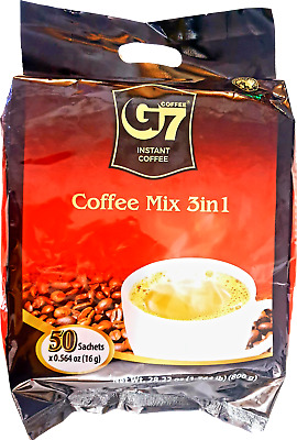 AU41.50 • Buy Vietnamese Trung Nguyen G7 Instant Coffee 3 In 1 Coffeemix (100 Packets X 16g)