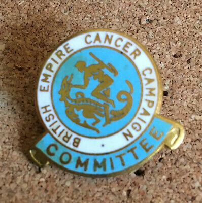 British Empire Cancer Campaign Committee Pin Badge • 1.80£