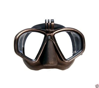 AU74 • Buy MAKO Dual Lens Dive Mask With GOPRO Mount