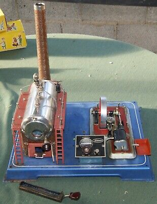 Wilesco D24 Steam Engine 1970's . Good Working Order • 350£