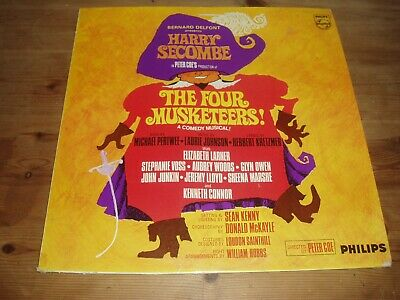 The Four Musketeers - Harry Secombe  Comedy Musical Lp • 2.99£