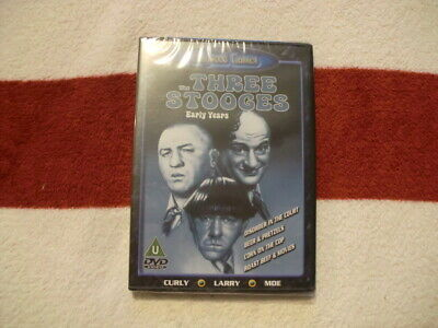 THE THREE STOOGES: THE EARLY YEARS (DVD) *NEW & SEALED* 99p • 0.99£