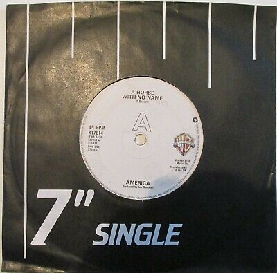 America-A Horse With No Name-K 17814-Vinyl-7 -Single-Record-45 • 10£