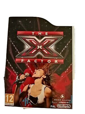 Wii X Factor Game  • 5£