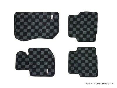 $85.50 • Buy Phase 2 Race Floor Mats For Bmw E36 3 Series Coupe 2d M3 Dark Grey