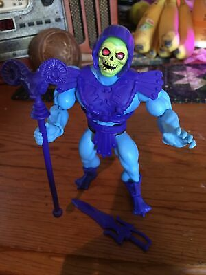 $15 • Buy Skeletor FIXED JAW Origins Figure - Loose Masters Of The Universe Complete