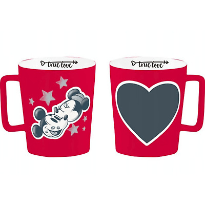 Disney Mug Mickey Minnie Mouse With CHALK GIFT IDEA Collectable Limited Edition  • 8.99£