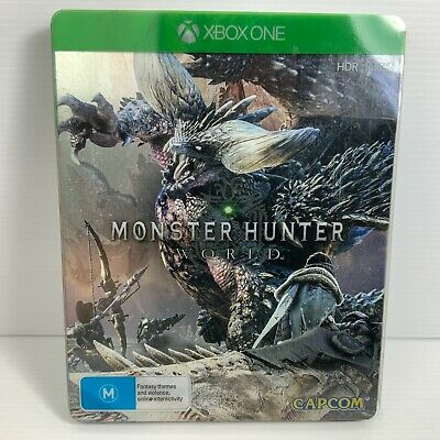 AU49.95 • Buy Monster Hunter World Steelbook Edition - Xbox One - Free Tracked Postage