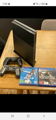 AU200 • Buy 500gb Slim Ps4 Console With Controllers, Headset And Games