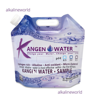 £39.99 • Buy Kangen Water Bags 5 Litre BPA Free Reusable. Authentic Brand New You Buy 10 Bags