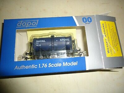 Dapol Oo Gauge Limited Edition Wessex Wagons Royal Navy 6 Wheel Tank 49 Of 145 • 5.50£