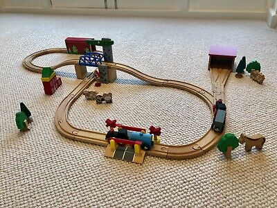 John Lewis Wooden Toy Train Set • 5£